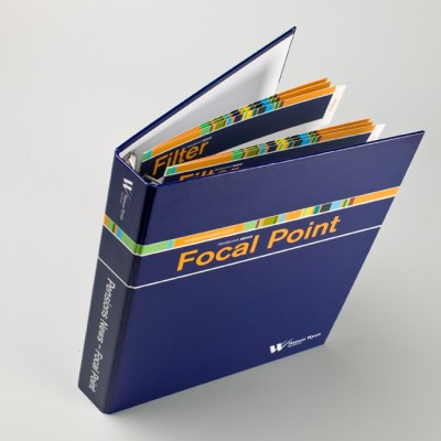 Cardboard presentation folder and document holder
