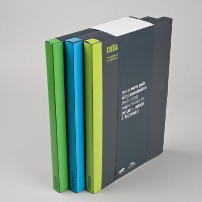 PVC Presentation folders for document storage