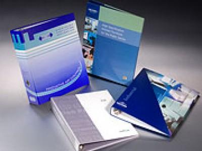 Paper Overboard customised ring binder